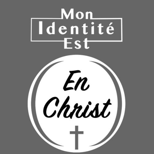 Mon Identité est En Christ - T-shirt premium pour hommes