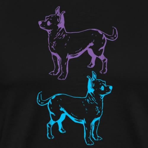 Chihuahua Double the Love - Men's Premium T-Shirt