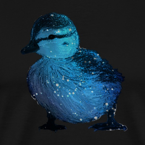 Galaxy Duckling - Men's Premium T-Shirt