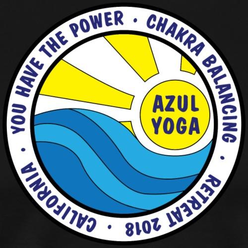 Azul Yoga Retreat - 2018 - Men's Premium T-Shirt