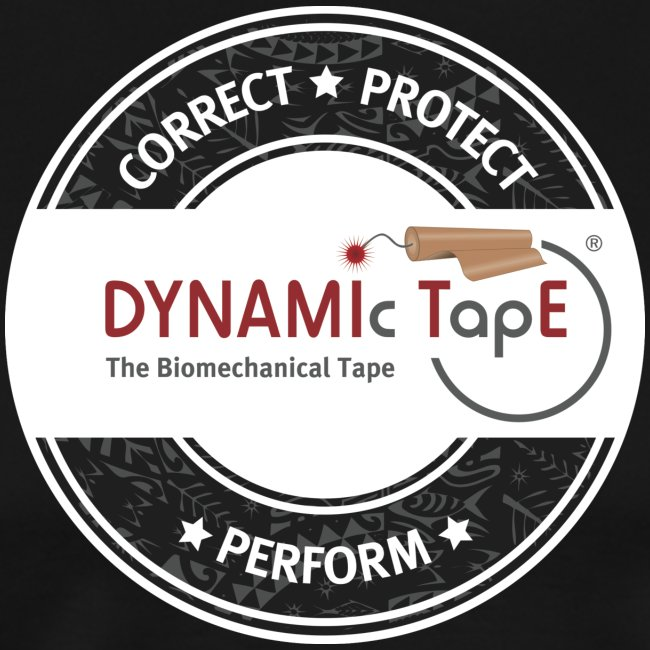 Dynamic Tape Correct-Protect-Perform White circle