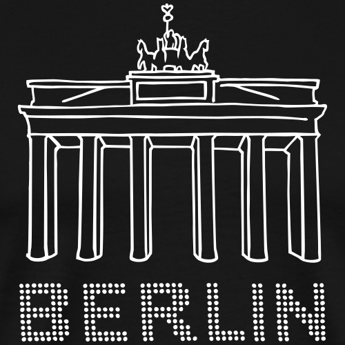 Brandenburg Gate Berlin - Men's Premium T-Shirt