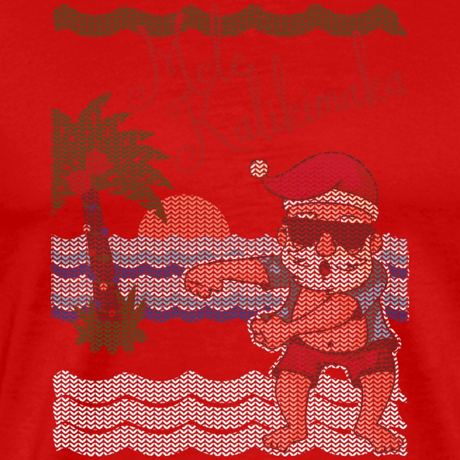 Ugly Christmas Sweater Hawaiian Dancing Santa