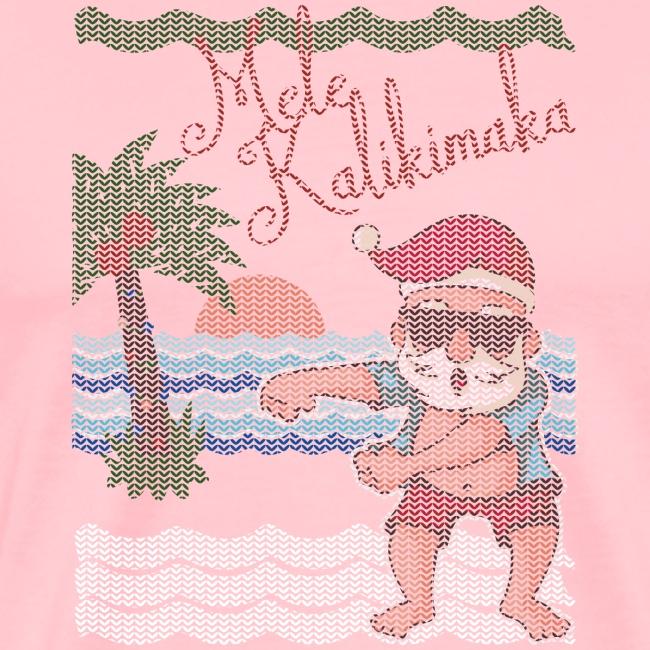 Ugly Christmas Sweater Hawaiian Dancing Santa