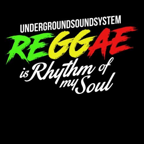 REGGAE is Rhythm of my Soul - Men's Premium T-Shirt