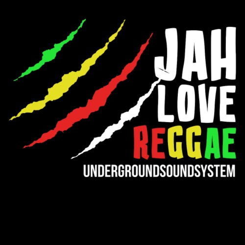 JAH LOVE REGGAE - Men's Premium T-Shirt