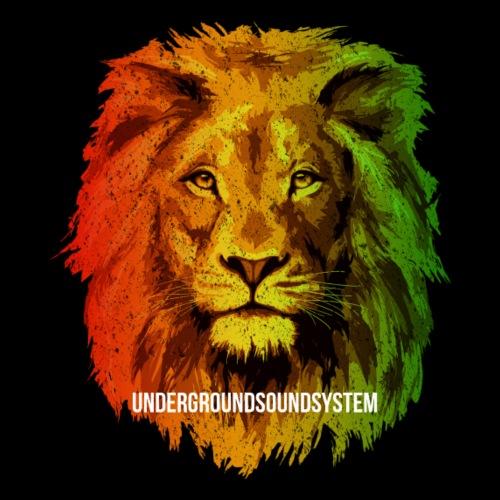 THE MIGHTY LION - Men's Premium T-Shirt