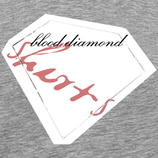 Blood Diamond -white logo