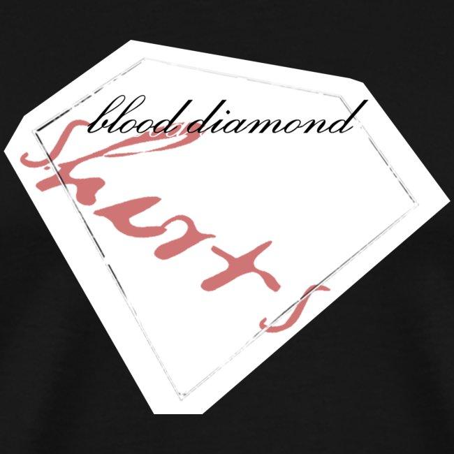 Blood Diamond -white logo