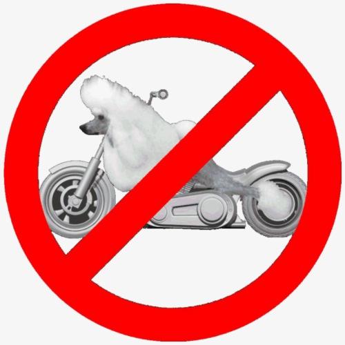 No Poodle Bikes for dark - Men's Premium T-Shirt