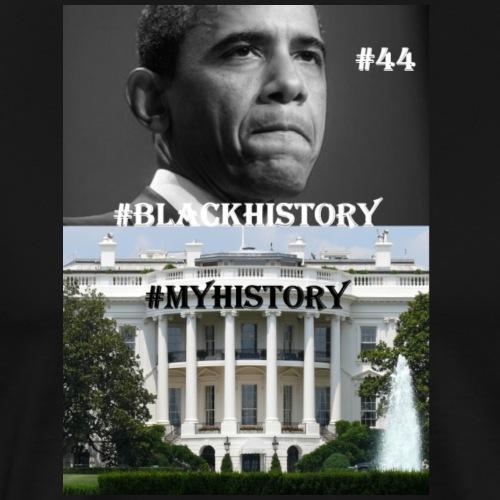 ObamaBlackHistory - Men's Premium T-Shirt