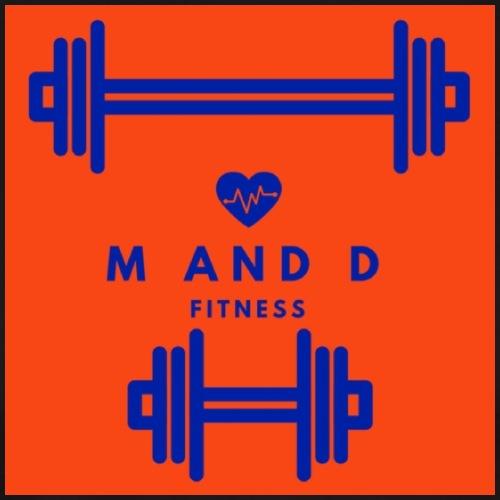 Alternative M and D Fitness Logog - Men's Premium T-Shirt