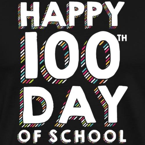 Happy 100th Day of School Sprinkles Teacher Tshirt - Men's Premium T-Shirt