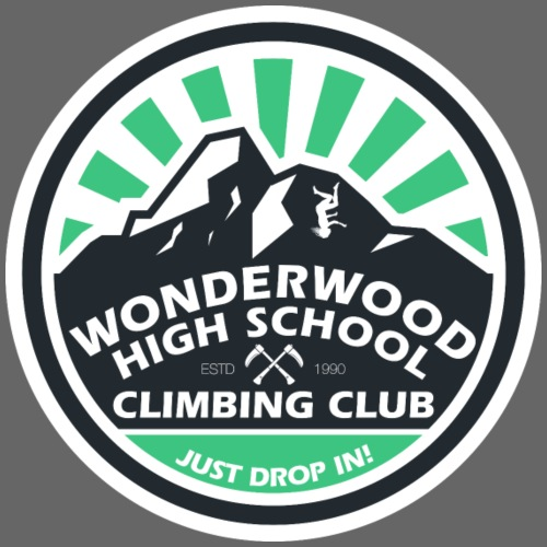 Wonderwood High Climbing Club - Men's Premium T-Shirt