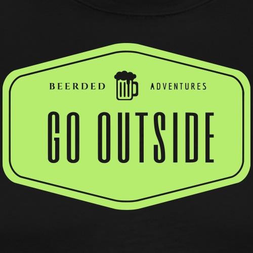 Retro Go Outside! - Men's Premium T-Shirt