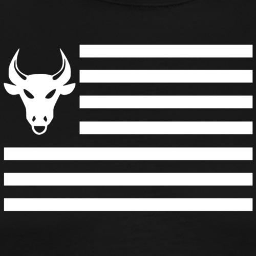 PivotBoss Flag White - Men's Premium T-Shirt