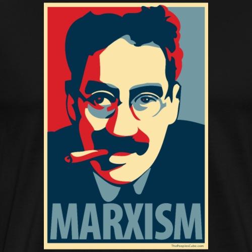 Marxism: Obama Poster Parody - Men's Premium T-Shirt