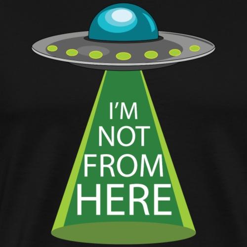 I'm Not From Here - Men's Premium T-Shirt