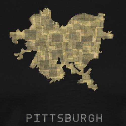 pittsburgh yellow - Men's Premium T-Shirt