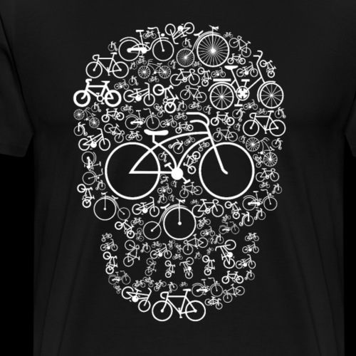 Bicyc-Skulls - Men's Premium T-Shirt