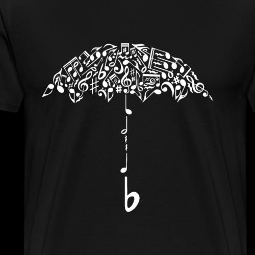 Singing in the Rain Umbrella - Men's Premium T-Shirt