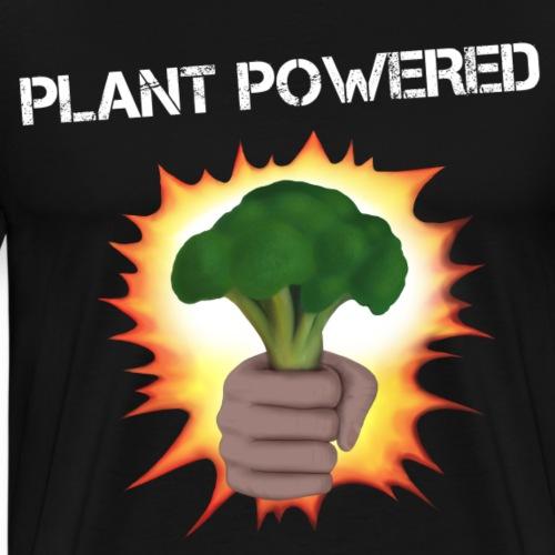 Vegan plant powered Broccoli - Men's Premium T-Shirt