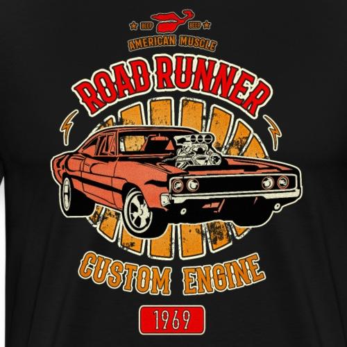Plymouth Road Runner - American Muscle - Men's Premium T-Shirt