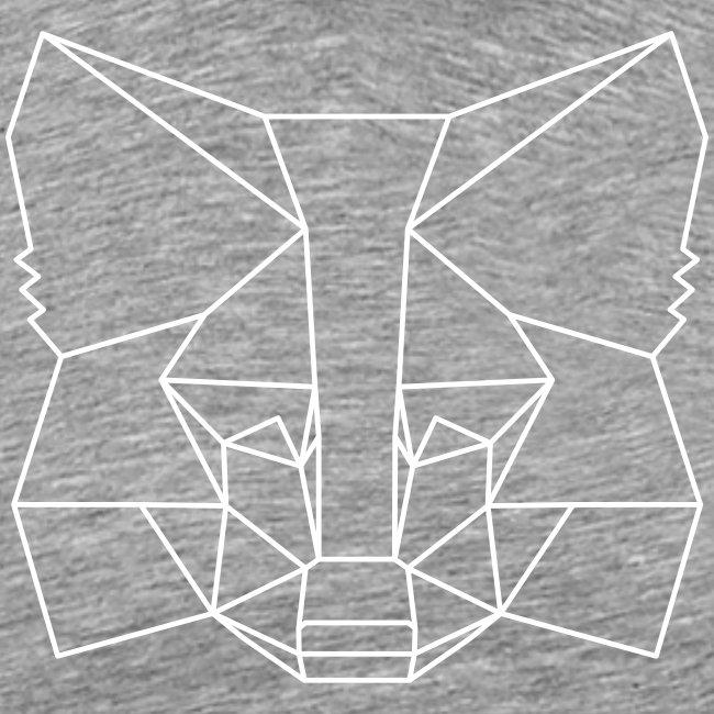 MetaMask Fox Outline - White