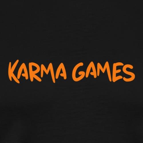 Karma Games Logo - Men's Premium T-Shirt
