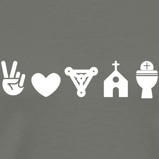 PEACE LOVE TRINITY CHURCH EUCHARIST
