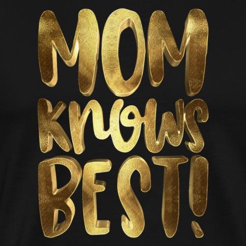 Mom Knows Best Golden