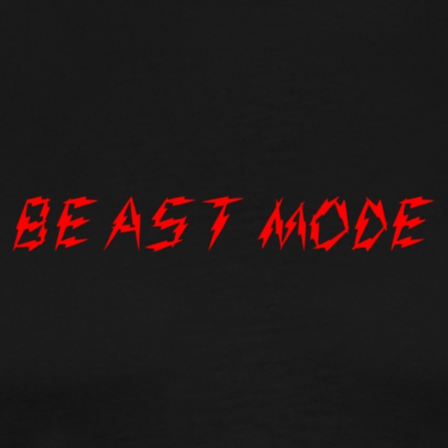 Beast M0de Text Only - Men's Premium T-Shirt