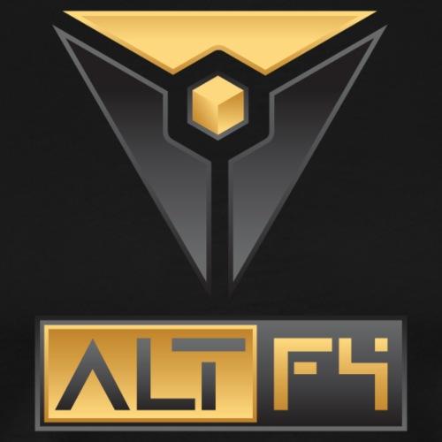 ALT F4 Text Logo - Men's Premium T-Shirt