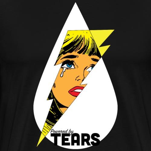 Powered by Tears - Men's Premium T-Shirt