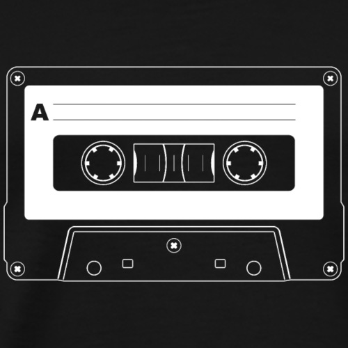 Retro Cassette Tape - Men's Premium T-Shirt