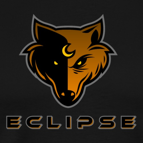 Eclipse Text Logo - Men's Premium T-Shirt