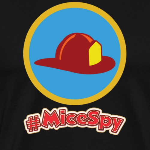 Main Street Fire House Explorer Badge - Men's Premium T-Shirt