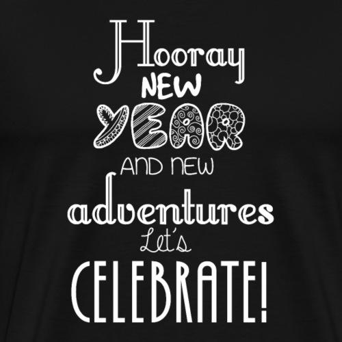 New year celebrate T shirt for Men, Women & Kids - Men's Premium T-Shirt