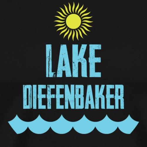 Lake Diefenbaker Sun - Men's Premium T-Shirt