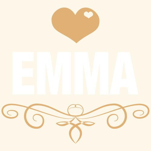 EMMA, Love, Heart, Baby, Girl, Birthday, Presents - Men's Premium T-Shirt