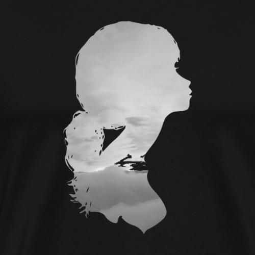 Girl Grey - Men's Premium T-Shirt
