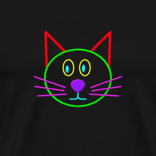 Colour cat - Men's Premium T-Shirt
