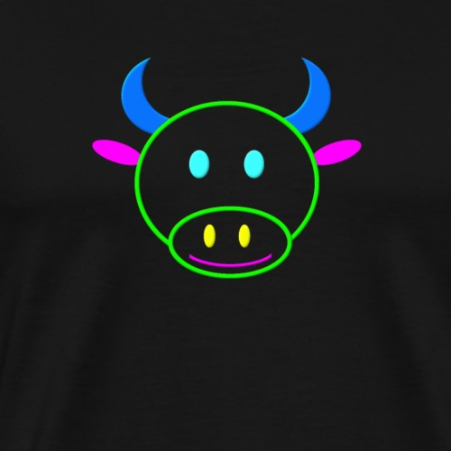 Coloured cow - Men's Premium T-Shirt