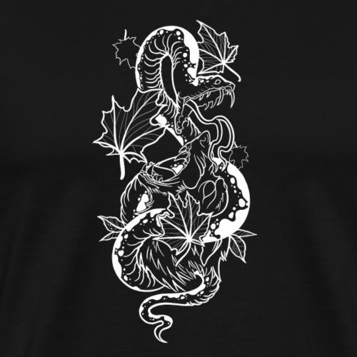 snake vs wolf - Men's Premium T-Shirt