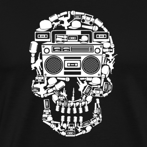 Audio Skull - Men's Premium T-Shirt