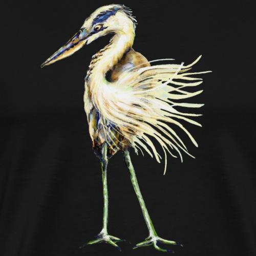 Great Blue Heron - Men's Premium T-Shirt