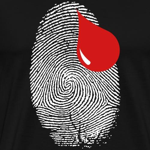 Finger Print - Men's Premium T-Shirt