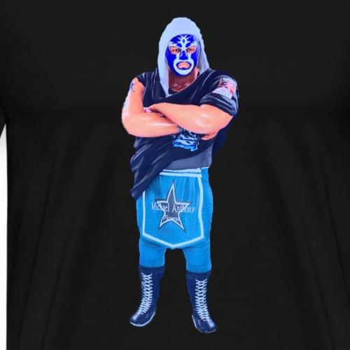 The Masked Cowboy - Men's Premium T-Shirt