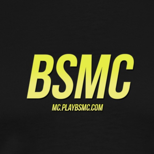 BSMC & IP (Yellow) - Men's Premium T-Shirt