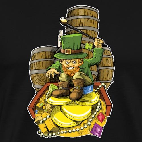 Angry Irish Leprechaun - Men's Premium T-Shirt